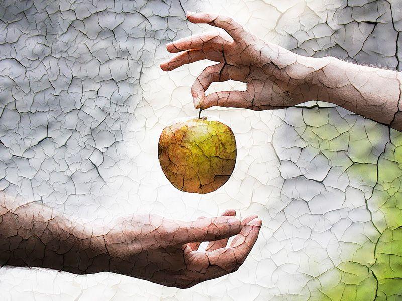 Mai beszélgetés egy kisebbfajta mezei istenség és Ádám közt